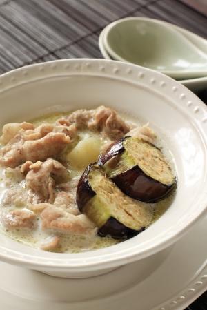 ange: Thai cuisine, green pork curry