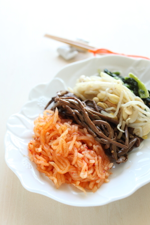 Korean food, Namul photo