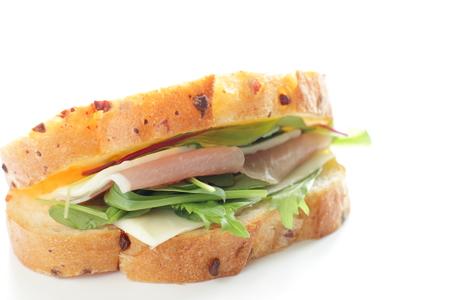 sandwish: Ham and cheese sandwish