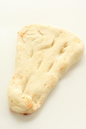 naan: Indian food, naan bread Stock Photo