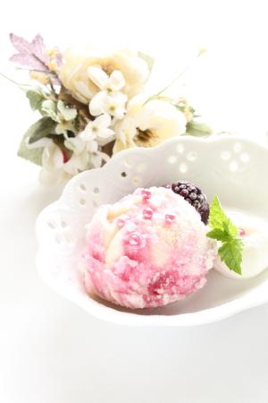 sherbet: berry sherbet for gourmet dessert