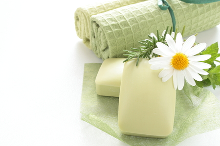 herbal soap photo