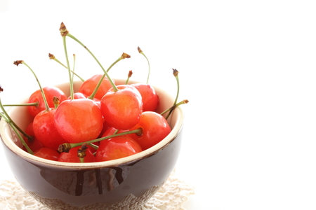 early summer: Japanese cherry, early summer gourmet fruit in Japan