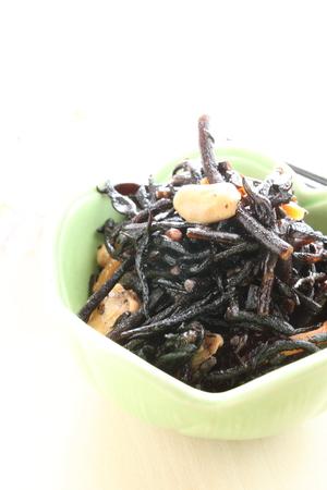 和食、煮大豆とひじき
