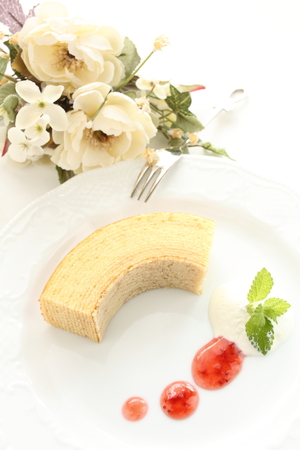 German confection, Baumkuchen