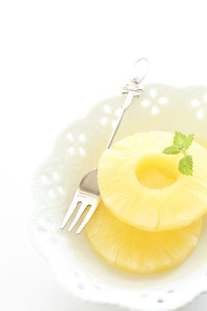 ミントと鮮度パイナップル