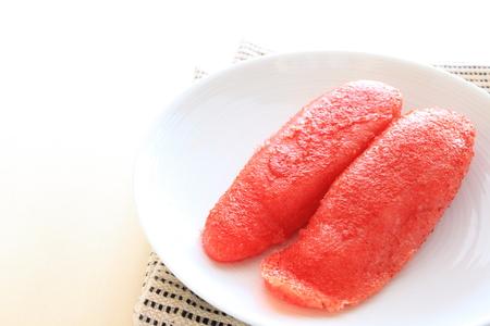 日本食、ポロックのマリネな roe