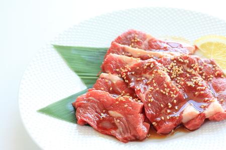 yakiniku: korean food, Yakiniku freshness beef for BBQ