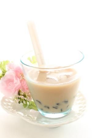 taiwanese: Taiwanese drink, milk tea and tapioca