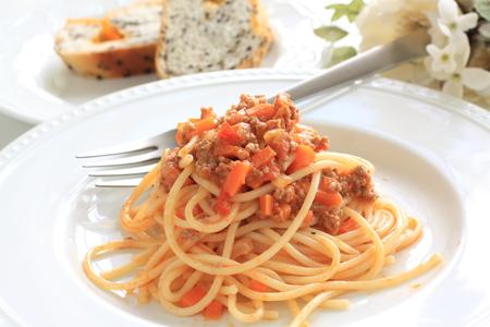 bolognaise: Spaghetti bolognaise  Stock Photo