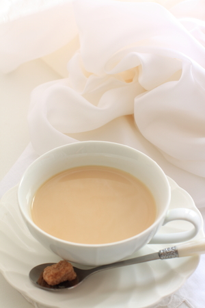 milk tea and brown sugar Stock Photo