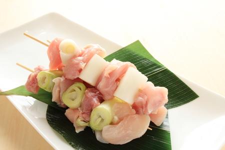 preparaba: Cocina japonesa, yakitori cruda preparada
