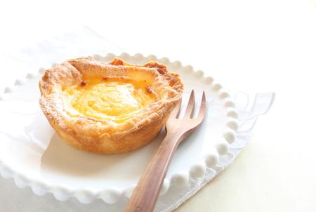 egg tart: Egg tart for macau food image