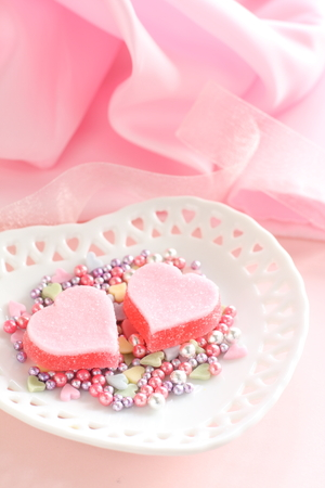candy hearts: Valentine day candy