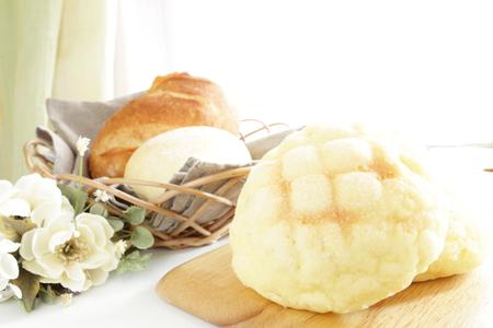 日本のパン、メロンパン