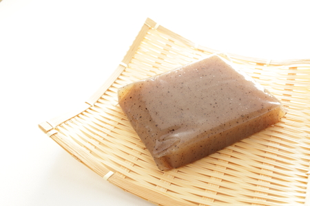 Japanese food ingredient,  Konjac Banque d'images