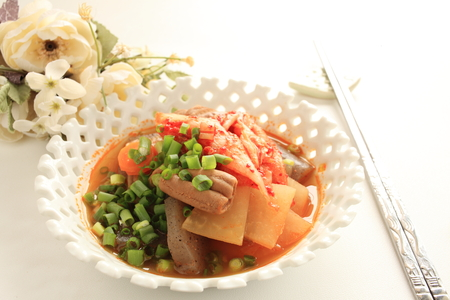 offal: beef offal and radish simmered