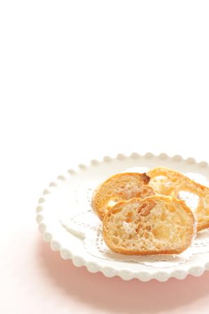 biscotte: biscotte de sucre de la boulangerie de la maison Banque d'images