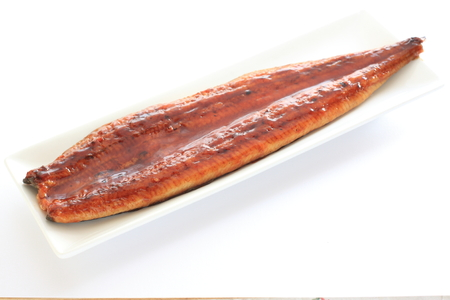 Japanese food, grilled eel 版權商用圖片