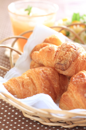french bread: franc�s Pan Croissant