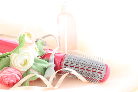 dryer: Hair dryer and artificial flower