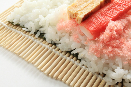 flak: Japanese cooking, roll sushi