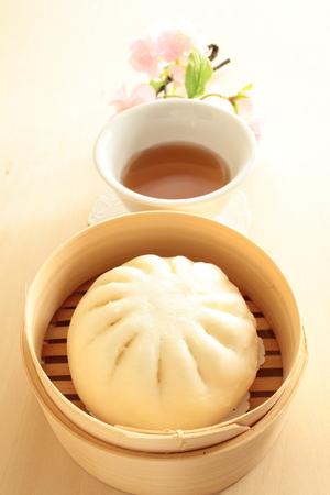 bao: Chinese food meat bao