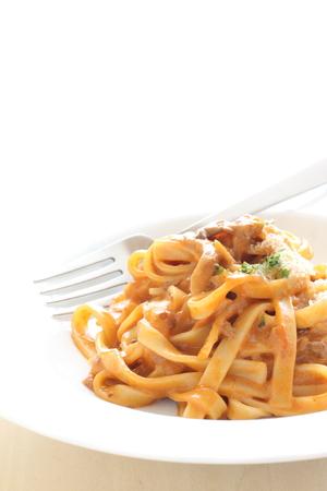 İtalyan mutfağı: İtalyan mutfağı et sosu fettuccine