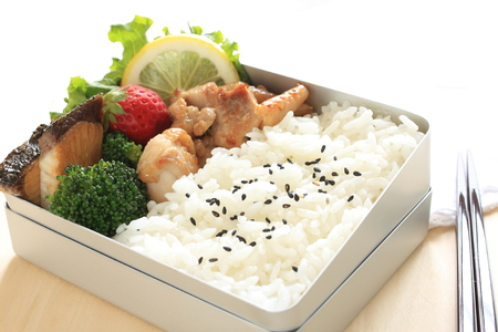 Japanese food homemade bento Packed lunch
