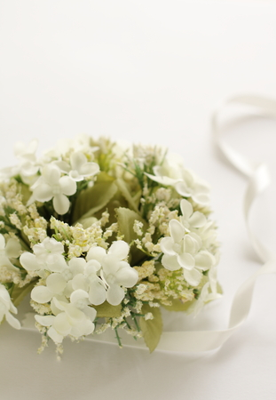 artificial flower bouquet for wedding background image