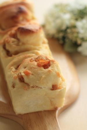 obody: Homemade orange bun