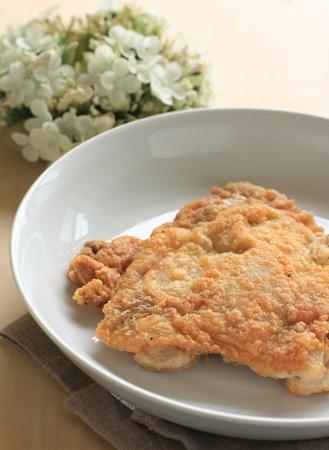 deep fried: deep fried chicken tight