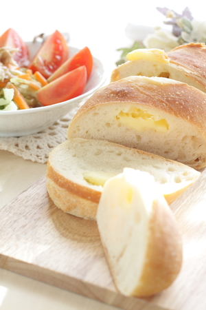 cheese bread: cheese bread Stock Photo