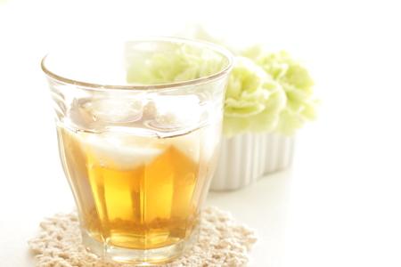 стиль жизни: холодный чай й цветок стиль жизни изображения