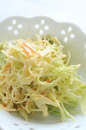 comida inglesa: Alimentos Ingl�s casera, ensalada de col Foto de archivo