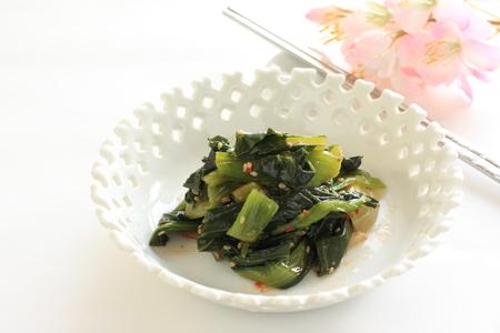 korean food: Korean food, Namul pickled spinach