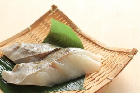タラ魚 写真素材