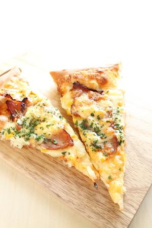 mayonesa: Tocino y mayonesa de pizza