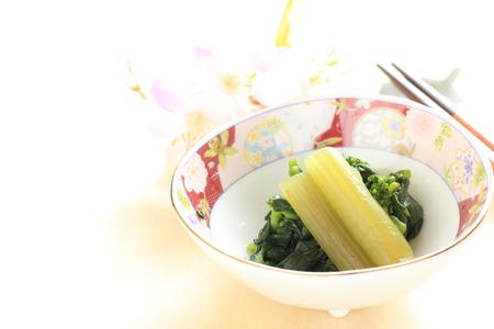 green vegetable: green vegetable, flower