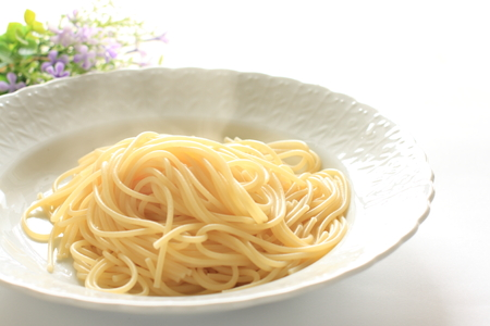 prepared: Prepared spaghetti Stock Photo