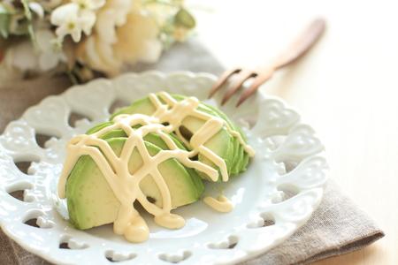 mayonesa: Aguacate y mayonesa ensalada