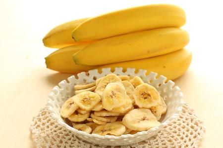 乾燥バナナ