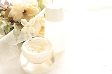 moisturiser: bottle of moisturizer for skin care image