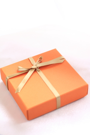 copys pace: orange color gift box