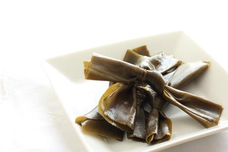 日本食、昆布 写真素材