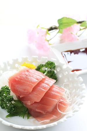 the freshness: Japanese cuisine, freshness Maguro Sashimi