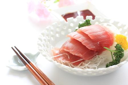 japanese cuisine: Japanese cuisine, freshness Maguro Sashimi