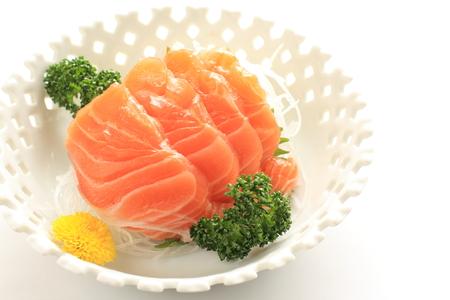 frescura: Cocina japonesa, Sashimi de salm�n fresco