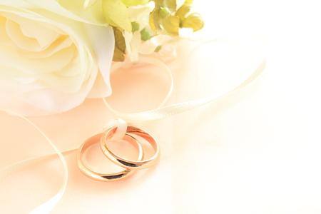 結婚式の背景の造花 写真素材