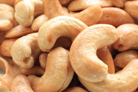 deep dried cashew nut 版權商用圖片